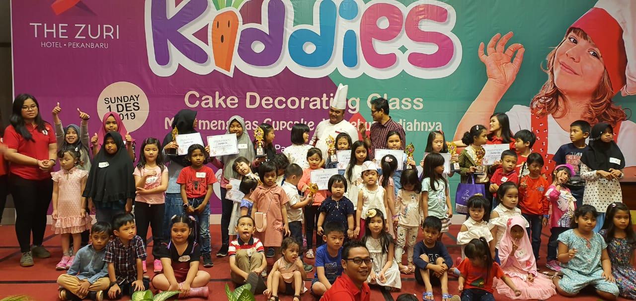 The Zuri Pekanbaru Sukses Taja Kiddies Decorating Class