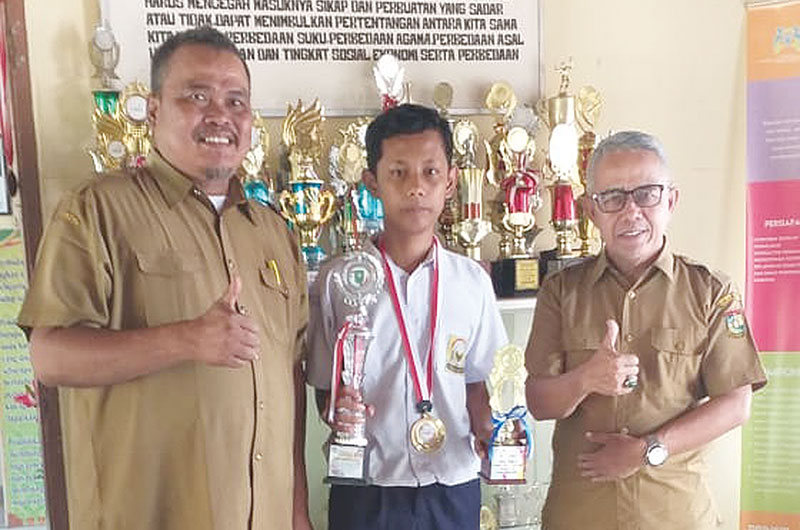 SMPN 2 Bangkinang Kota Dapatkan Golden Ticket FLS2N Tingkat Nasional