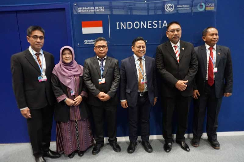 Ini Misi Negosiator Delegasi Indonesioa pada COP 25