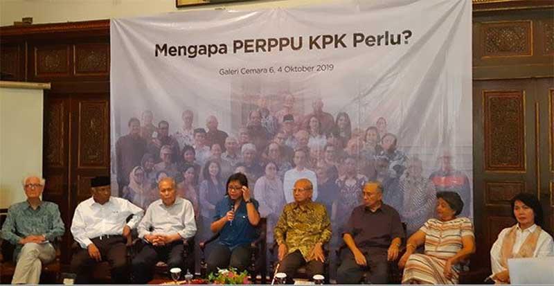 Presiden Jokowi Tak Bisa Digulingkan jika Menerbitkan Perppu KPK
