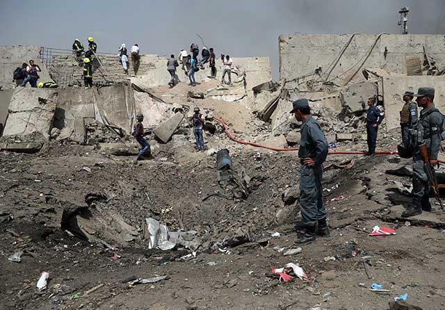 Taliban Menyerang saat AS Mundur