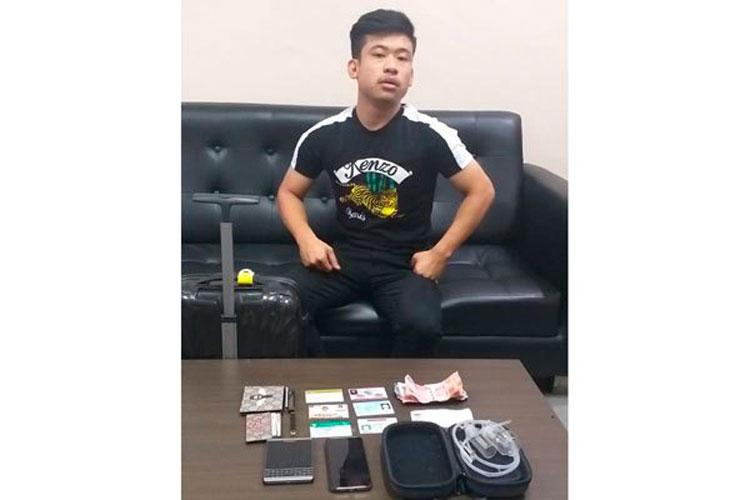 Bawa Alat Isap Sabu, Anggota DPRD Diamankan
