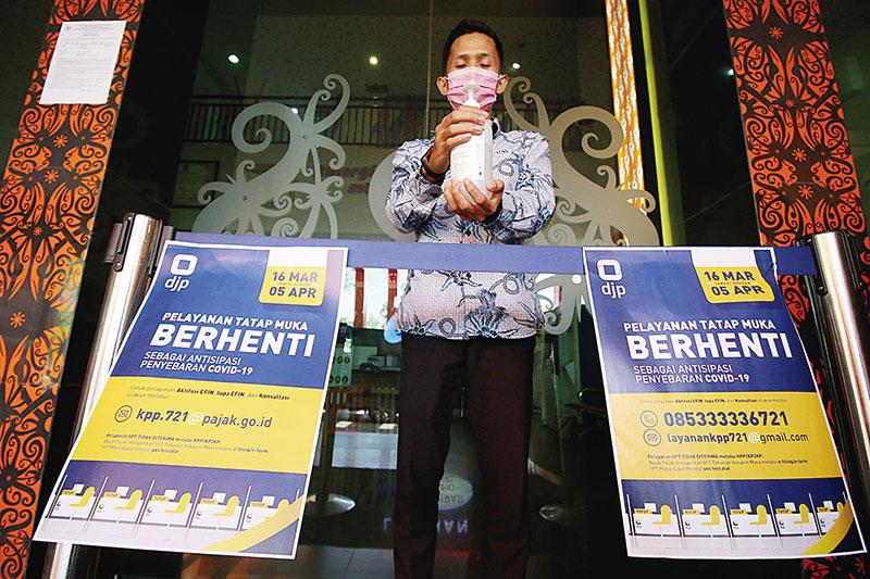 DJP Riau Perpanjang Pelayanan Tidak Tatap Muka
