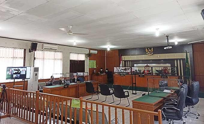 Hakim Tolak Eksepsi Yan Prana, Sidang Dilanjutkan