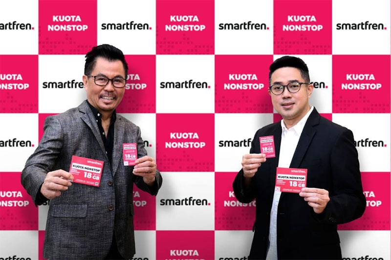 Smartfren Hadirkan Keseruan Kuota Nonstop Bagi Generasi Konten