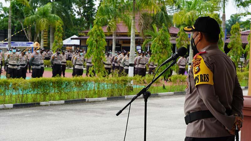 245 Personel Polisi Bebas Covid-19