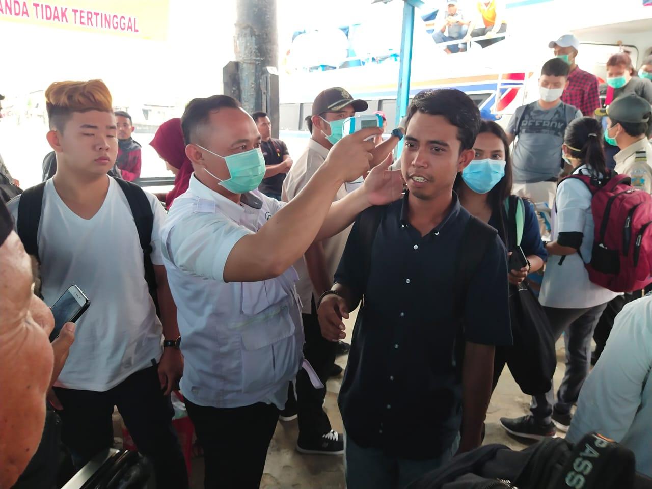 Antisipasi Virus Corona, Pengawasan dari Jalur Dosmetik di Pelabuhan