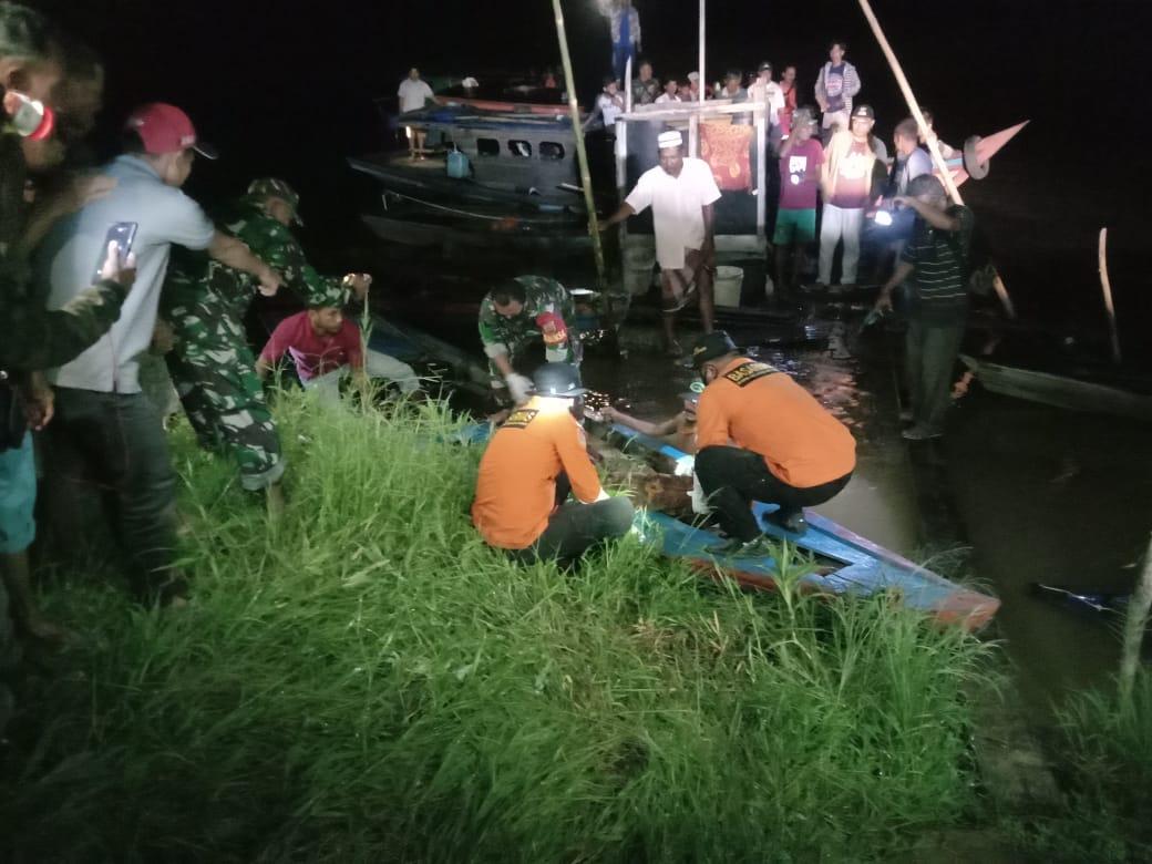Nelayan Hanyut di Sungai Rokan Ditemukan Tak Jauh dari Lokasi Pompong Karam
