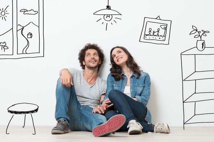 Buat Pasangan Baru Menikah, Ini 5 Tips Hemat Mengisi Rumah