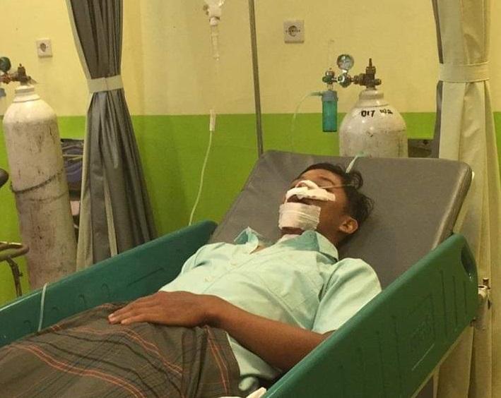 Kecelakaan saat Latihan, Atlet Sepeda Riau Asal KamparLuka Parah