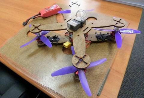 Malaysia Ciptakan Drone dari Serat Daun Nanas