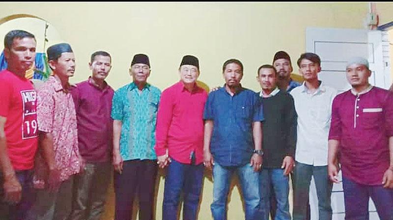 Halim Jadi Cucu Kemanakan Suku Melayu Sentajo