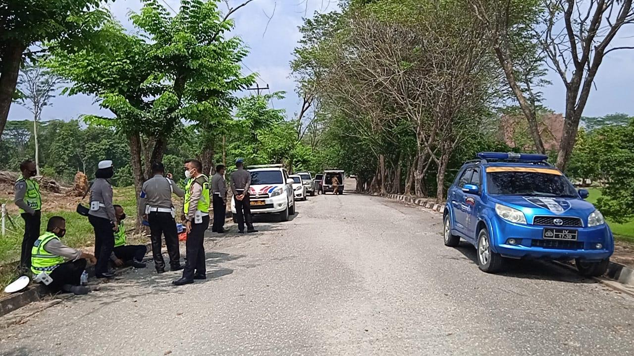 Rapat Banmus DPRD Inhu Diamankan Ratusan Personel Polri dan TNI