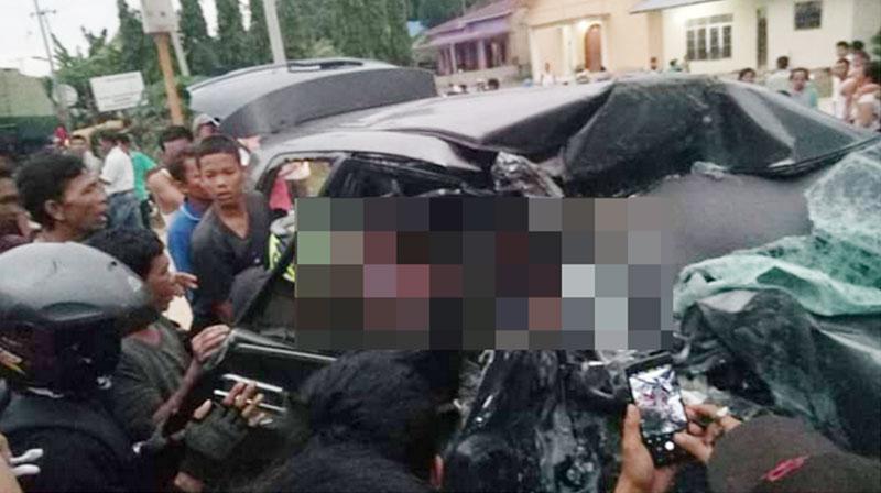 Lagi, Kecelakaan Maut di Lintas Pekanbaru-Duri, Tiga Tewas