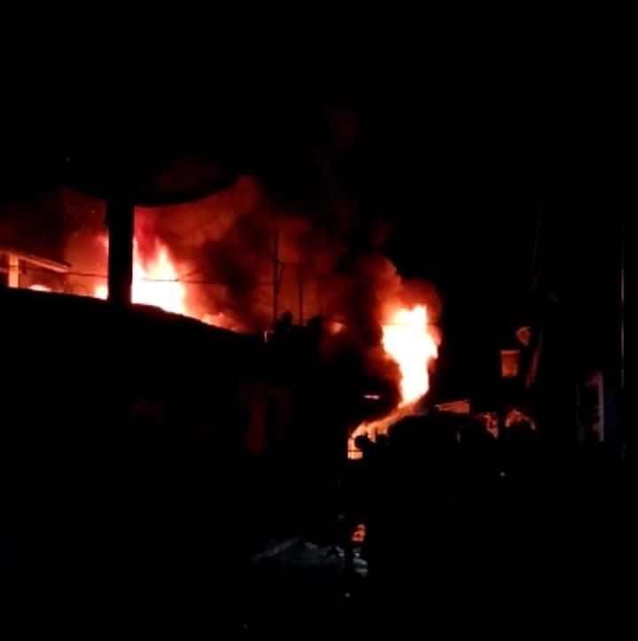 Lagi, Dua Unit Rumah Warga Ludes Terbakar di Rengat