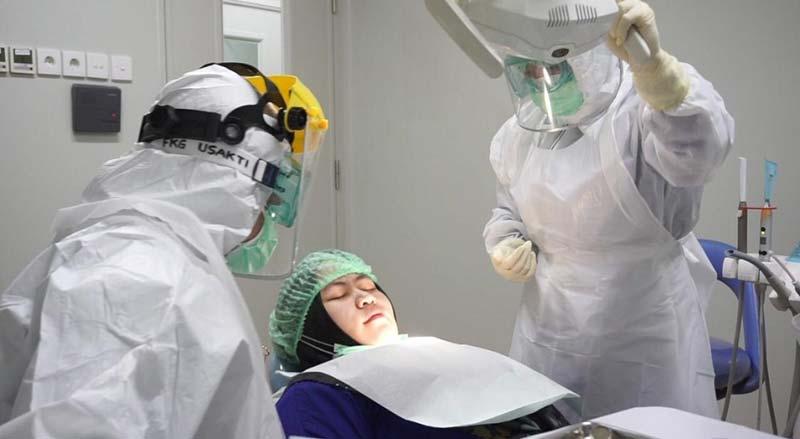 Pandemi, Dokter Gigi Praktik di Ruangan Bertekanan Negatif
