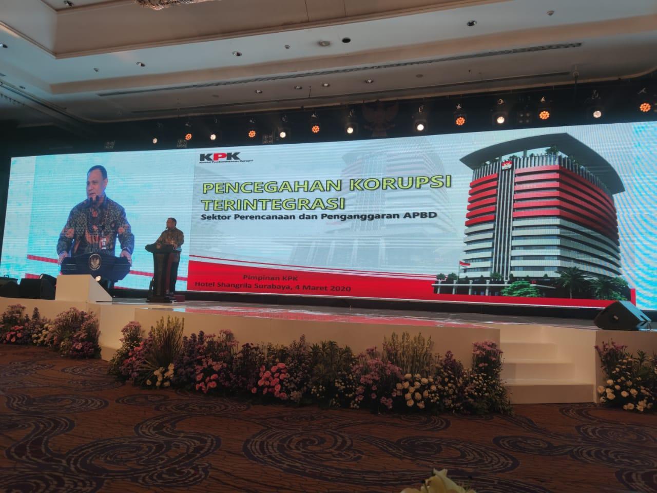 KPK: Menerima Hadiah Sumber Awal Korupsi
