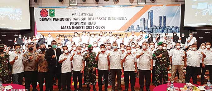Pengurus Banyak, DPD REI Riau Harus Lebih Maju