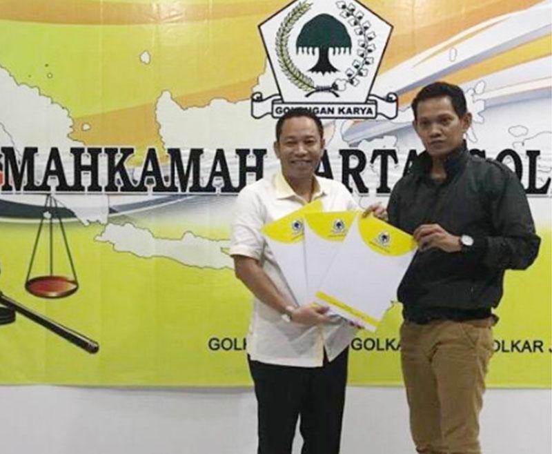 Mahkamah Partai Golkar Kembalikan Ketua DPD II Siak ke Syamsuar