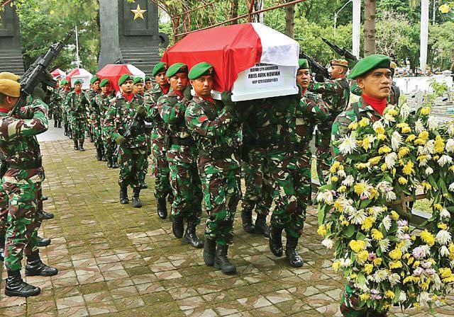 Dinaikkan Pangkat Setingkat, 4 Prajurit TNI-AD Korban Helikopter MI-17