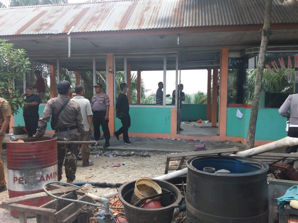 PN Siak Eksekusi Lahan dan Bangunan di Kandis Kepentingan Proyek Jalan Tol