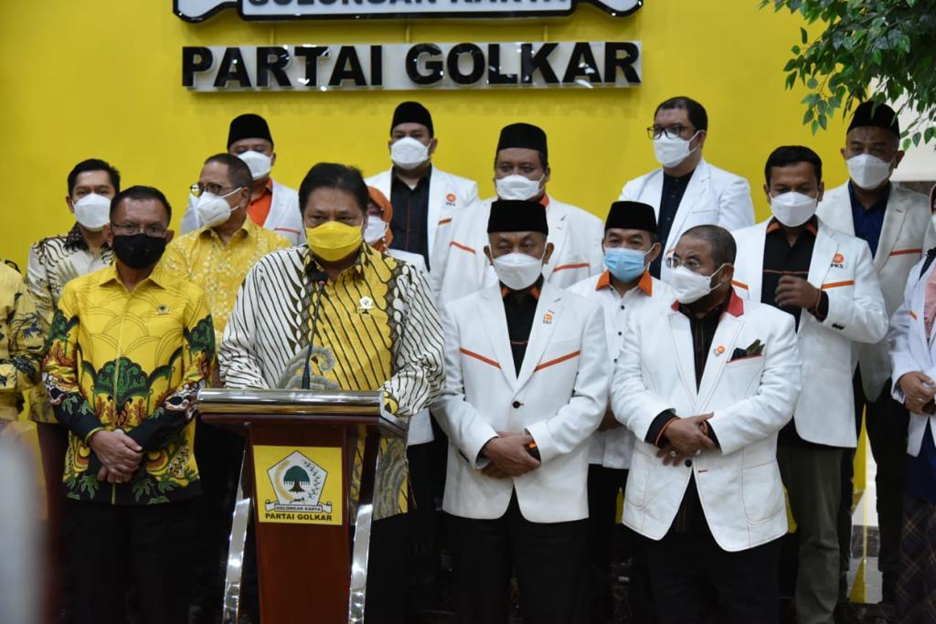 Airlangga: PKS Dukung Pemerintah Tangani Pandemi Covid-19