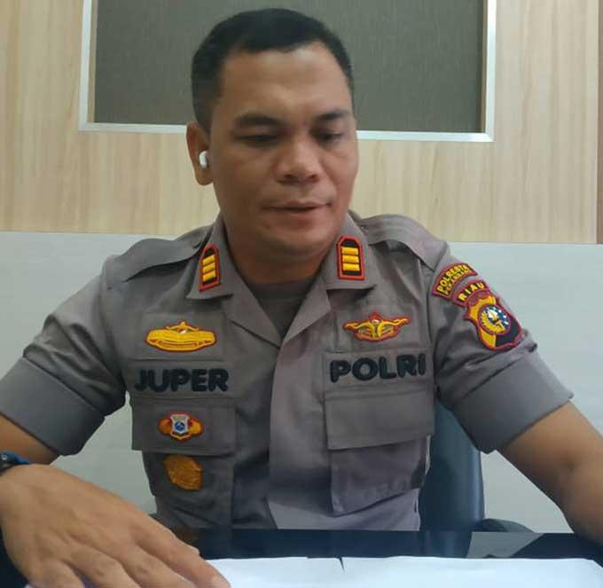 oknum lurah ditangkap terkait kasus penipuan proyek pl