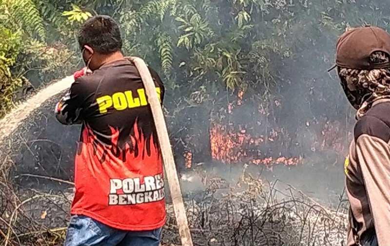 Terpantau 141 Titik Api, Terbanyak di Inhil