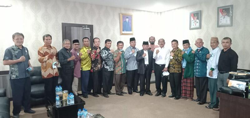 Rombongan Silaturahmi Kebangsaan Kunjungi MUI Riau