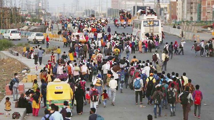Ikut Mudik Massal Jalan Kaki karena Lockdown, Lelaki India Ini Tewas