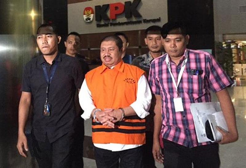 KPK Perpanjang Penahanan Bupati Bengkalis Amril Mukminin untuk Ketigakalinya