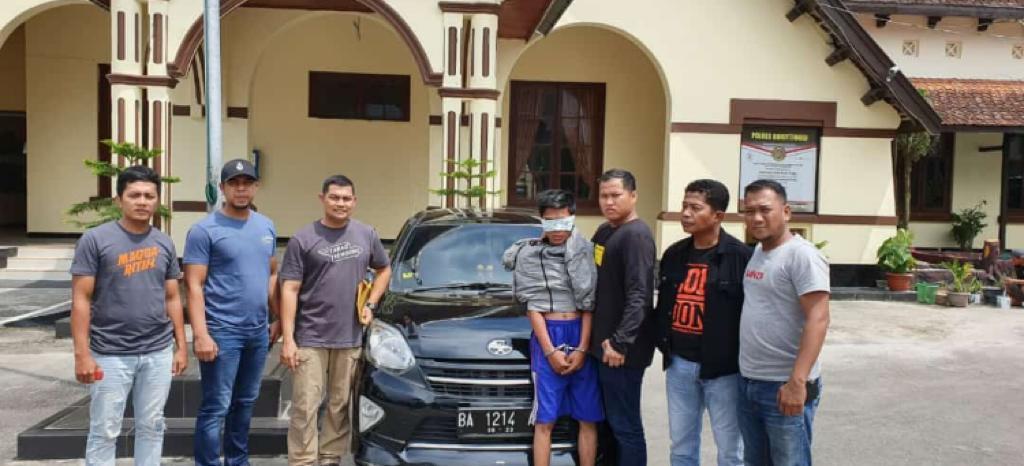 Perampok Driver Ojol Berhasil Ditangkap di Sumbar