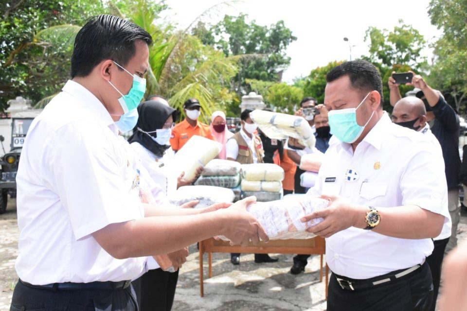 70 Ribu Masker untuk Setiap Kecamatan