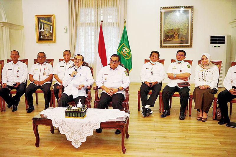 Gubri Pantau Pencegahan Corona di Riau