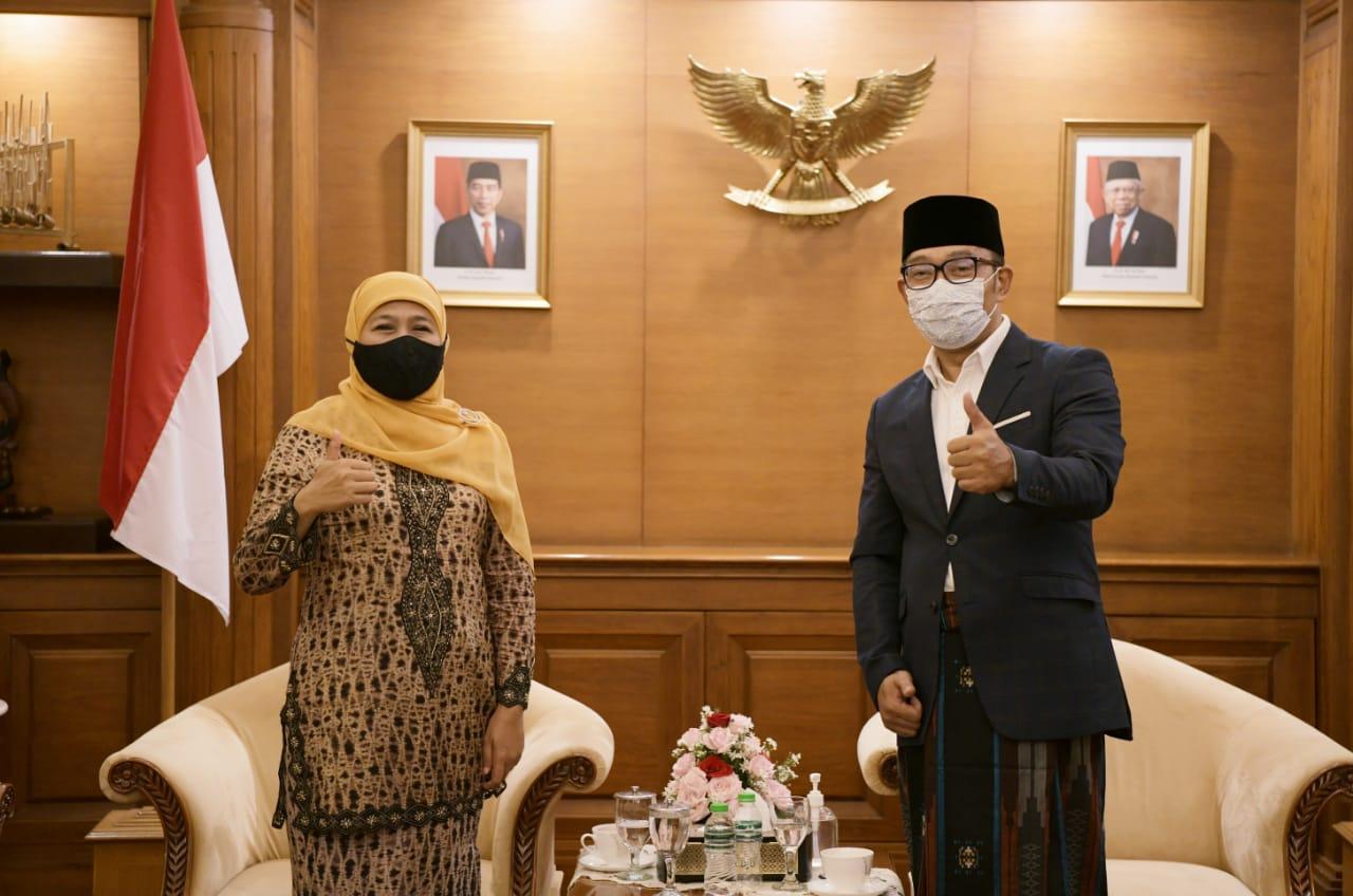 Ridwan Kamil Diminta Gubernur Jatim Mendesain Masjid Islamic Center Surabaya
