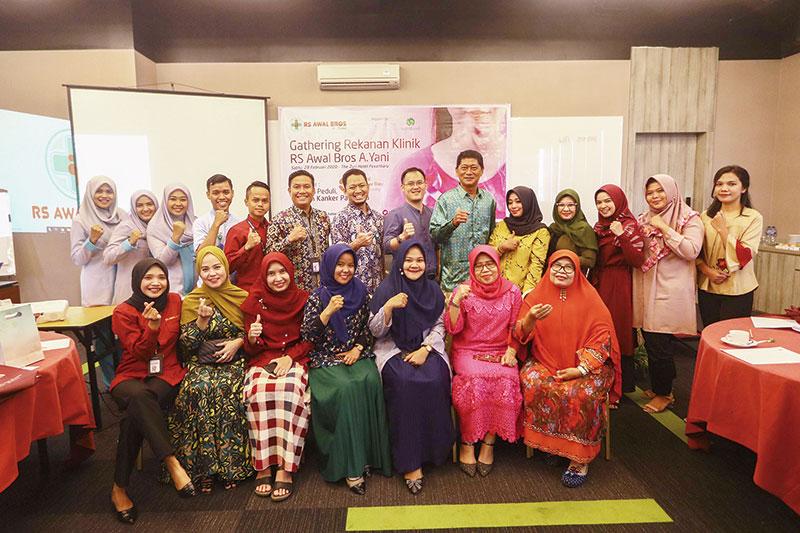 RS Awal Bros A Yani Gelar Seminar Pencegahan Kanker Payudara