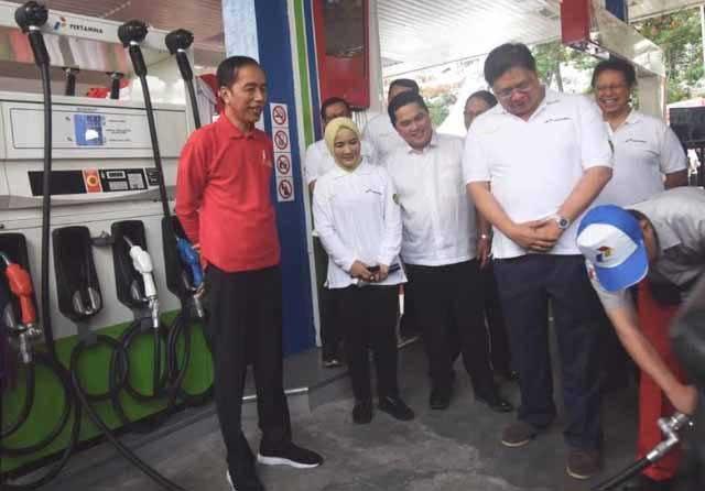 Presiden Resmikan Penerapan BBM B30