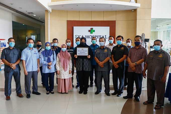 Konsulat Malaysia Vaksinasi Pegawai