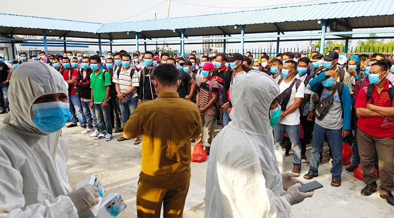 Update Terkini, Pagi Ini Tercatat 4.377 ODP di Riau