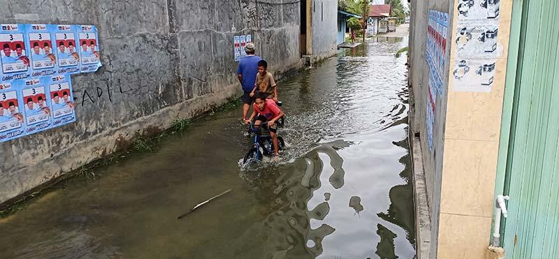 Atasi Banjir, Dewan Minta Rencana Jangka Pendek