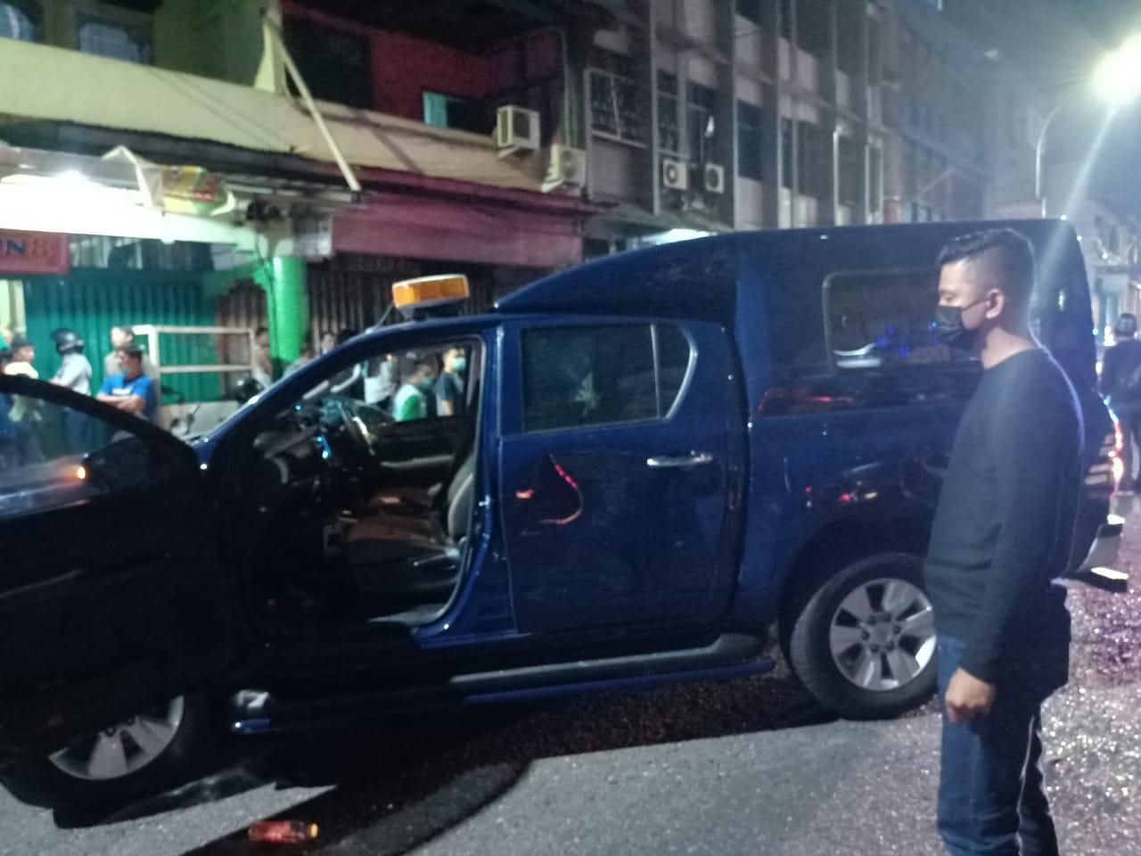 Penyerangan Mobil Bea Cukai di Jalan Juanda, Satu Petugas Luka Ringan