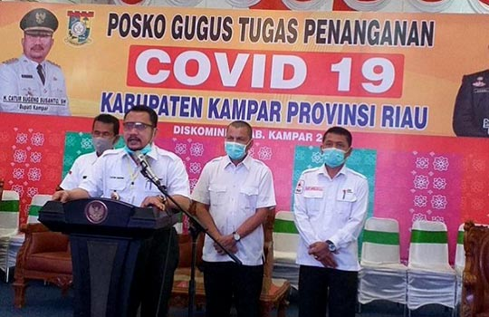Semua Pasien Positif Covid-19 di Kampar Sembuh