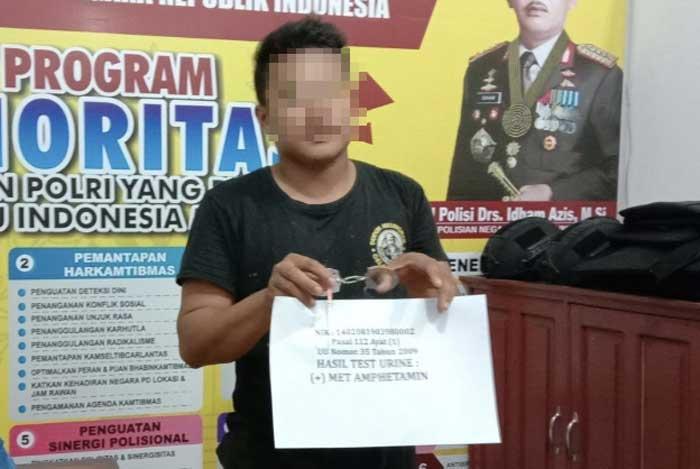 Sempat Kelabui Polisi, Pemuda Pemilik Sabu di Inhu Ditangkap
