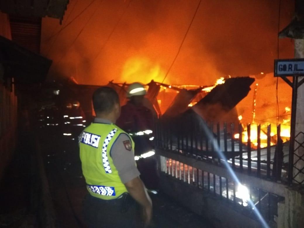 Penyebab Kebakaran Kampung Dalam Masih Diselidiki