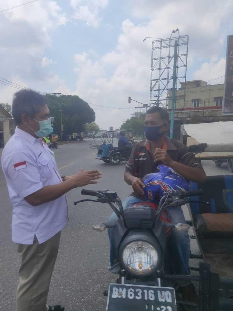 IDI Rohil Berikan Ribuan Masker untuk Masyarakat