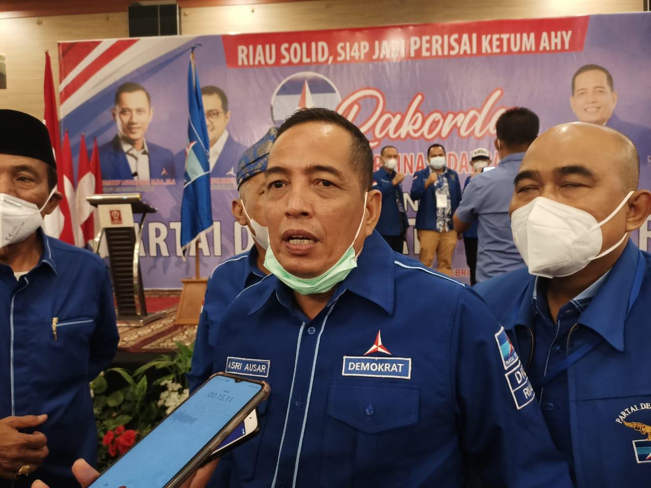 Demokrat Riau Pilih Jalur Hukum Jika Ada Kelompok Klaim Nama Partainya