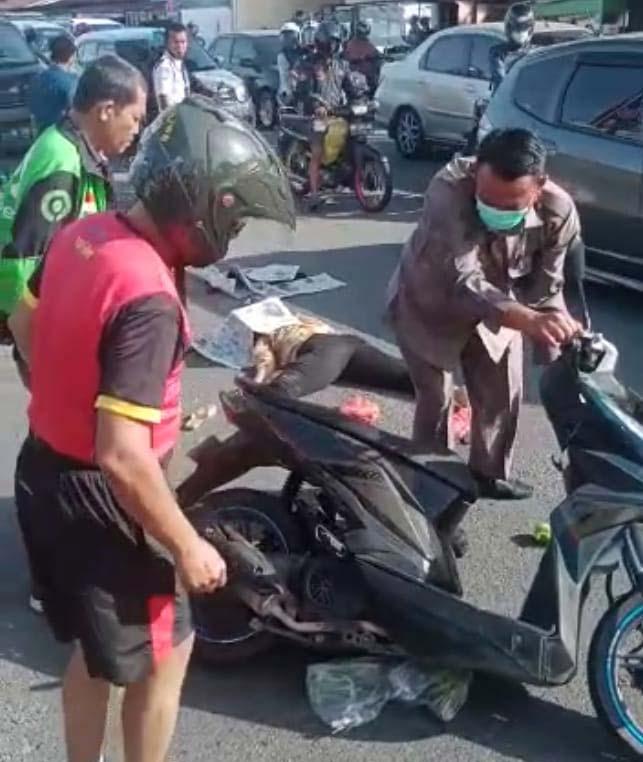 Lakalantas di Jalan Sudirman, Pengendara Motor Tewas