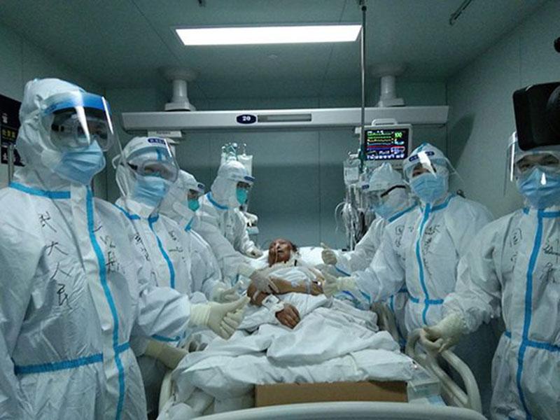 Pasien Covid-19 sampai Harus Transplantasi Paru-paru