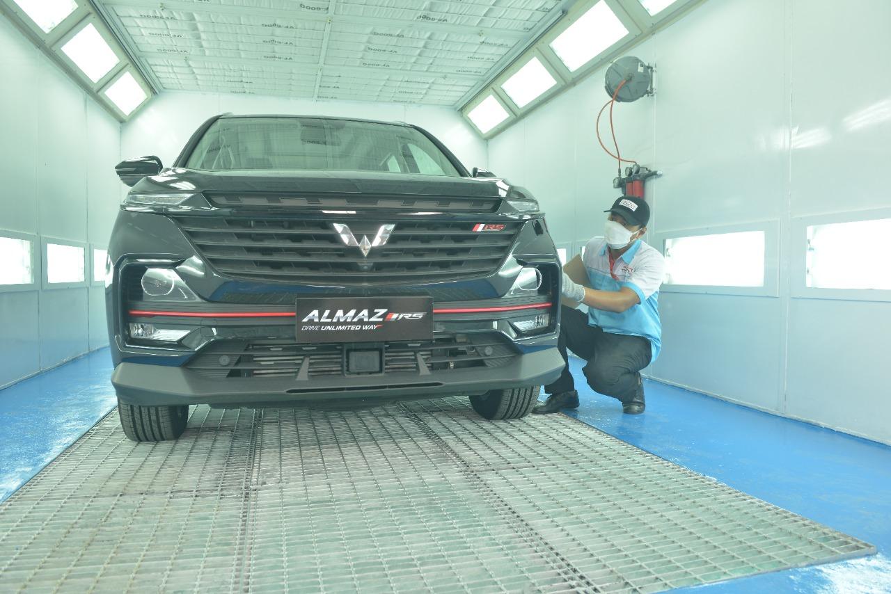 Layanan Purnajual di Pekanbaru, Wuling Gandeng Tekno Body Repair