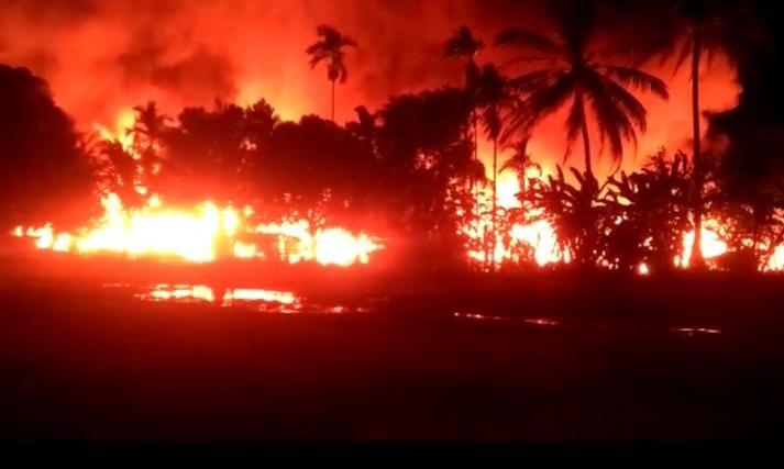 23 Rumah dan Satu Unit Xenia Ludes Terbakar